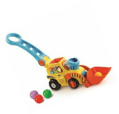 VTech POP And Drop Digger| Educational Push Along Digger For Toddler | Toy Gift • 60.64£