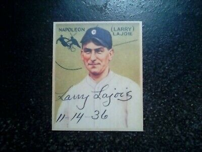 $2.25 • Buy 1934 Goudey Larry Lajoie #106 *RP* Novelty Card.