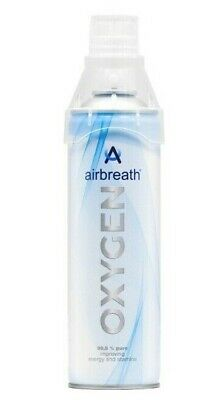 Airbreath® OXYGEN 5L OXYGEN IN A CAN RECREATIONAL OXYGEN SUPPLEMENTAL OXYGEN • 8.40£