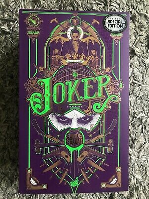 $188 • Buy The Joker Purple Coat Version Suicide Squad Hot Toys Special Edition New In Box
