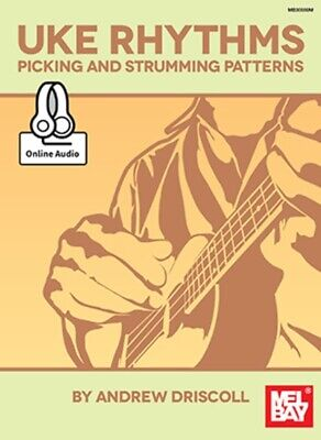 AU37.95 • Buy Ukulele Rhythms Picking And Strumming Patterns Book/Oa (Softcover Book/Online Au
