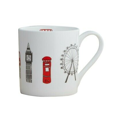 Victoria Eggs London Skyline Mug Bone China Porcelain • 12£