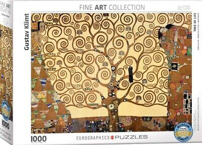 $ CDN31.79 • Buy Eurographics Tree Of Life By Gustav Klimt 1000-Piece Puzzle - NEW