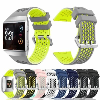 $ CDN9.87 • Buy For Fitbit Ionic Strap Silicone Sports Fitness Replacement Wristband Watch