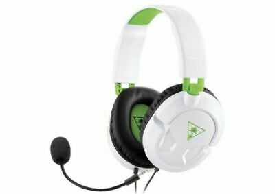 $50 • Buy Turtle Beach RECON 50X White Headband Headsets For Microsoft Xbox One