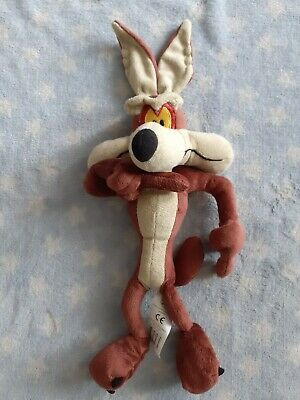 Looney Tunes Wile E Coyote Soft Plush Toy From Roadrunner WBros By Boots 13  • 9.99£