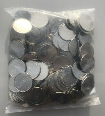 $27.50 • Buy Lot Of 250) Silver 30mm 50 Cent Pachislo Slot Machine Tokens Half Dollar IGT