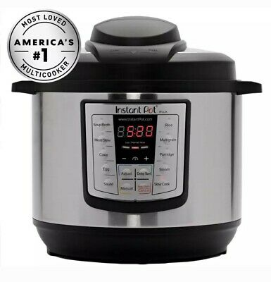 $49.50 • Buy Instant Pot IPLUX80 8 Quart Programmable Pressure Cooker. LOW FIXED SHIPPING!