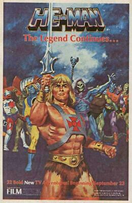 $9.98 • Buy He-Man And The Masters Of The Universe Movie POSTER 11 X 17 John Erwin, B
