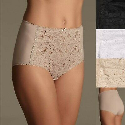 Marks & Spencer 3 Pack Lace Full Briefs M&S Rrp £8 Each • 7.99£