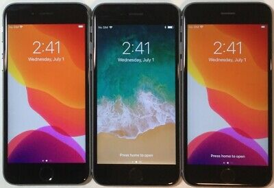 $ CDN282.36 • Buy LOT OF THREE TESTED CDMA + GSM UNLOCKED AT&T APPLE IPhone 6S 32GB PHONES A105J
