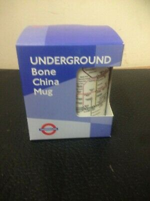 Bone China London Underground Mug • 2.50£