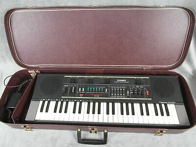 $49.99 • Buy Vintage CASIO Casiotone MT-210 Electronic Keyboard W/ Case - Tested Works Great!