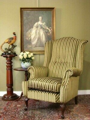 AU950 • Buy VINTAGE WING BACK ARMCHAIR / CHAIR ~ AUSTRALIAN MADE BY JARVI ~ IN VGC.  C1950s