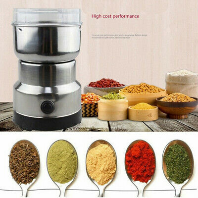 AU25.68 • Buy 240V Electric Herbs/Spices/Nuts/Coffee Bean Grinder/Grinding/Mill Blender New AU