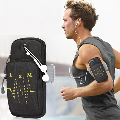 AU16.49 • Buy IPhone X/11 Samsung Note Water Resistance Arm Band Bag For Running Riding Gym