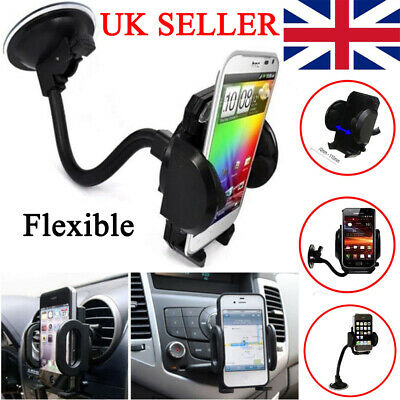 Universal Car Mobile Phone Holder Mount Windscreen Air Vent Stand Cradle GPS PDA • 5.99£