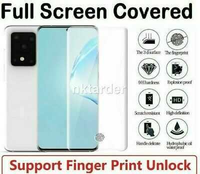 $ CDN2.98 • Buy For Samsung Galaxy S10 S20 S9 S8 Plus Tempered Glass Screen Protector Film Curve