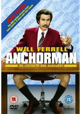 £1.79 • Buy Anchorman: The Legend Of Ron Burgundy (DVD, 2004)