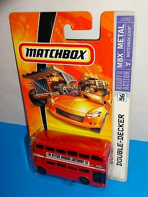 $ CDN6.31 • Buy Matchbox 2006 MBX Metal #56 Double-Decker Bus Red The British Invasion Continues