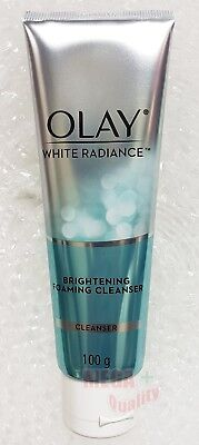 AU23.45 • Buy Olay White Radiance Advanced Whitening Brightening Foaming Face Cleanser 100g