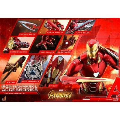AU429.99 • Buy 1/6 Avengers Infinity War Iron Man Mark L 50 Figure Accessories ACS004 Hot Toys