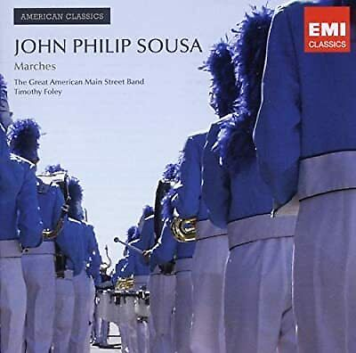American Classics: Sousa, The Great American Main Street Band/Timothy Foley, New • 6.01£