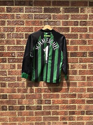 Manchester United 1997/1998 Goalkeeper Football Shirt - #1 Schmeichel-12/13 Kids • 59.99£