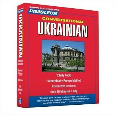 £25.11 • Buy Pimsleur Conversational Ukrainian [With Free Case] (Mixed Media Product)