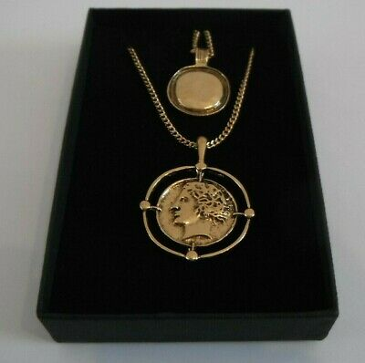 Greek Goddess Dual Style Necklace Gift Boxed • 8.75£