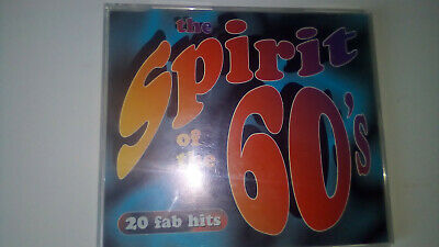 The Spirit Of The 60s - 20 Fab Hits CD Album Time Life TL53131. RARE • 45£
