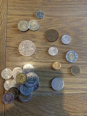 Mixed Foreign Coins, Some Old. • 10£