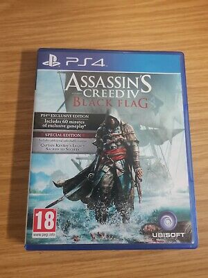 Assassins Creed IV: Black Flag Limited Edition (PS4) 99p Start, No Reserve  • 7£