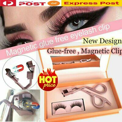 AU24.66 • Buy Magnetic Eyelashes Clip Quickly Apply Magnetic Lash Applicator No Glue Needed WZ