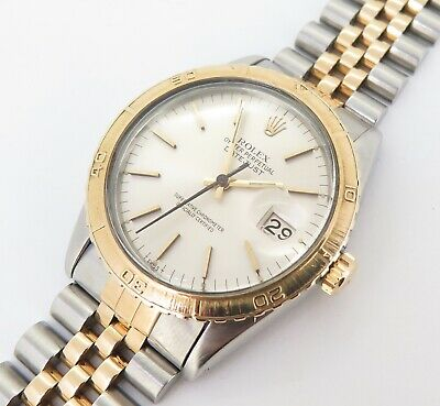 $ CDN6144.48 • Buy .Vintage 1978 Rolex Datejust Mens Steel & Gold Wrist 16030 Watch & Serviced