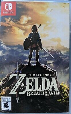 $25 • Buy Legend Of Zelda: Breath Of The Wild (Nintendo Switch, 2017) COMPLETE - Pristine