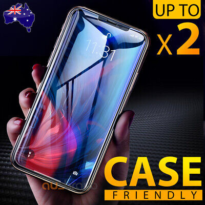 AU4.19 • Buy Tempered Glass Screen Protector For Apple IPhone 12 Mini 11 Pro XS Max XR 8 Plus