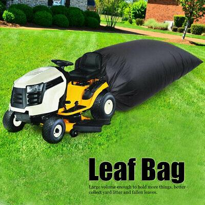 AU35.88 • Buy Weatherproof Lawn Tractor Leaf Bag Fallen Leaves Collection Waste Trash Bag Tool