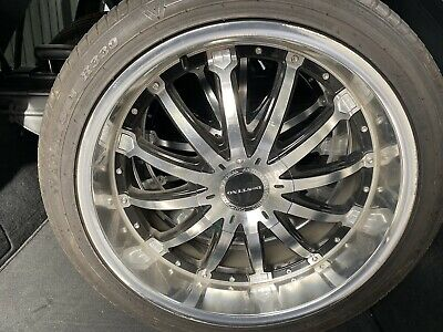 AU999 • Buy 22 Inch Destino Concept Luxury Wheels With Tyres