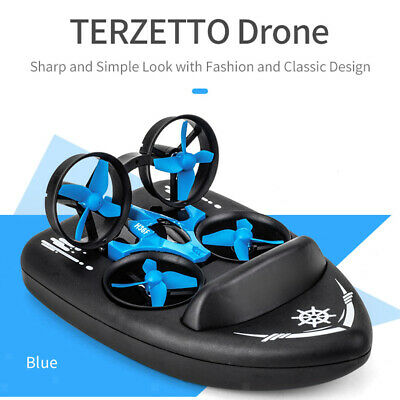 AU32.82 • Buy JJRC H36F Mini RC Drone Boat Car 4CH Land Water Air Toy Gift Quadrocopter