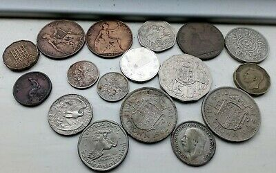 Vintage English And Foreign Coins Collection • 2.20£