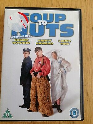 The Three Stooges - Soup To Nuts DVD | (1930) • 5£