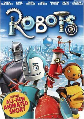 ROBOTS - ASDA EXCLUSIVE [DVD], Good, DVD, FREE & FAST Delivery • 2.13£