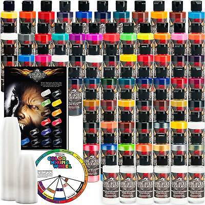 £289.72 • Buy 66 Createx Wicked Colors 2oz Complete Colors Airbrush Paint Set - Hobby Craft