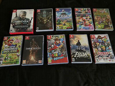 $255 • Buy Nintendo Switch Games Lot-Mario And Zelda