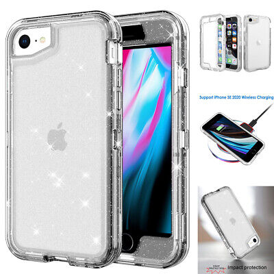 AU9.99 • Buy For IPhone SE 2020 IPhone 7 8 6s 6 Case Clear Heavy Duty Shockproof Armor Cover