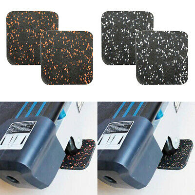 AU19.05 • Buy 4x Thickened Treadmill Sound Insulation Mat Furniture Rubber Fitness Cushion