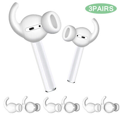 $ CDN6.01 • Buy For Apple AirPods Anti-Slip Silicone Ear Hooks Covers Featuring Bass Enhancement