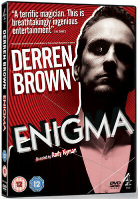 Derren Brown: Enigma DVD (2011) Andy Nyman Cert 12 Expertly Refurbished Product • 2.96£