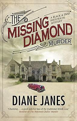 The Missing Diamond Murder (A Black & Dod Mystery) By Janes, Diane, NEW Book, FR • 19.19£